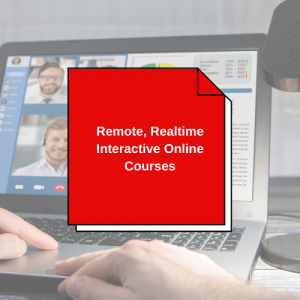 Remote Real Time Interactive Training Online